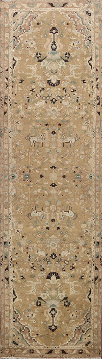 Animal Pictorial Malayer Persian Runner Rug 3x12