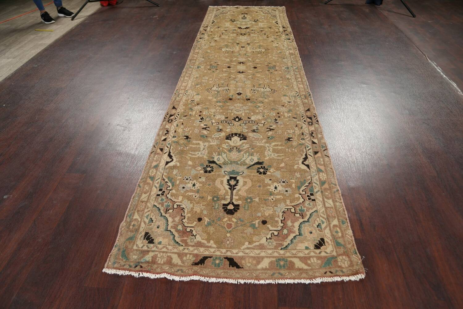 Animal Pictorial Malayer Persian Runner Rug 3x12 image 13