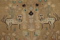 Animal Pictorial Malayer Persian Runner Rug 3x12 image 9