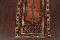 Pre-1900 Antique Vegetable Dye Malayer Persian Runner Rug 4x10 image 8