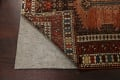 Pre-1900 Antique Vegetable Dye Malayer Persian Runner Rug 4x10 image 7