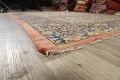 Pre-1900 Antique Vegetable Dye Sultanabad Persian Area Rug 10x13 image 6