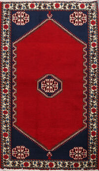 Geometric Abadeh Persian Area Rug 2x3