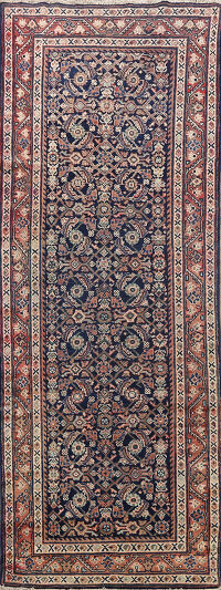 All-Over Mahal Persian Runner Rug 3x10