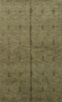 All-Over Gabbeh Oriental Area Rug 5x8