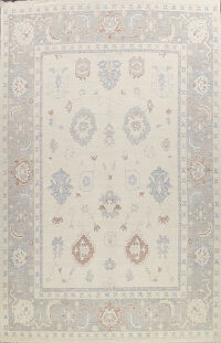 Large Vegetable Dye Oushak Oriental Area Rug 12x15