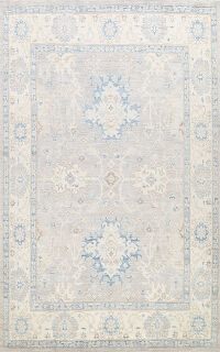 Vegetable Dye Oushak Oriental Area Rug 8x11