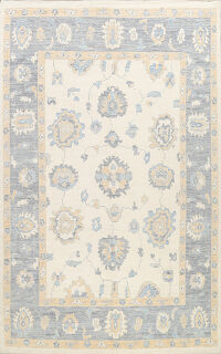 Vegetable Dye Oushak Oriental Area Rug 9x12