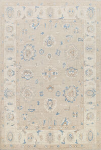 Vegetable Dye Oushak Oriental Area Rug 8x10