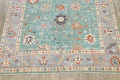 All-Over Oushak Oriental Area Rug 9x12 image 8