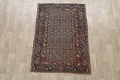 Pre-1900 Antique Tribal Malayer Persian Area Rug 4x6 image 2