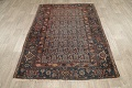 Pre-1900 Antique Tribal Malayer Persian Area Rug 4x6 image 13