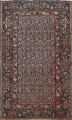 Pre-1900 Antique Tribal Malayer Persian Area Rug 4x6 image 1