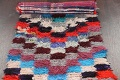 All-Over Checkered Moroccan Oriental Runner Rug 2x9 image 13