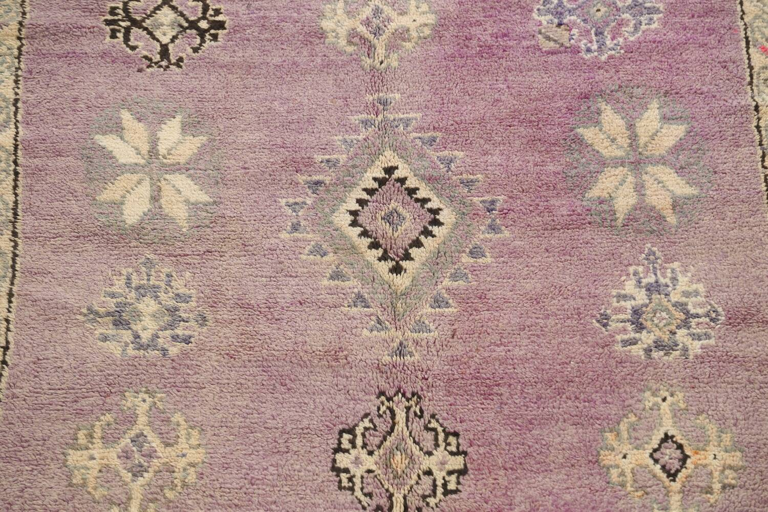 Antique South-western Moroccan Oriental Runner Rug 5x12 image 4