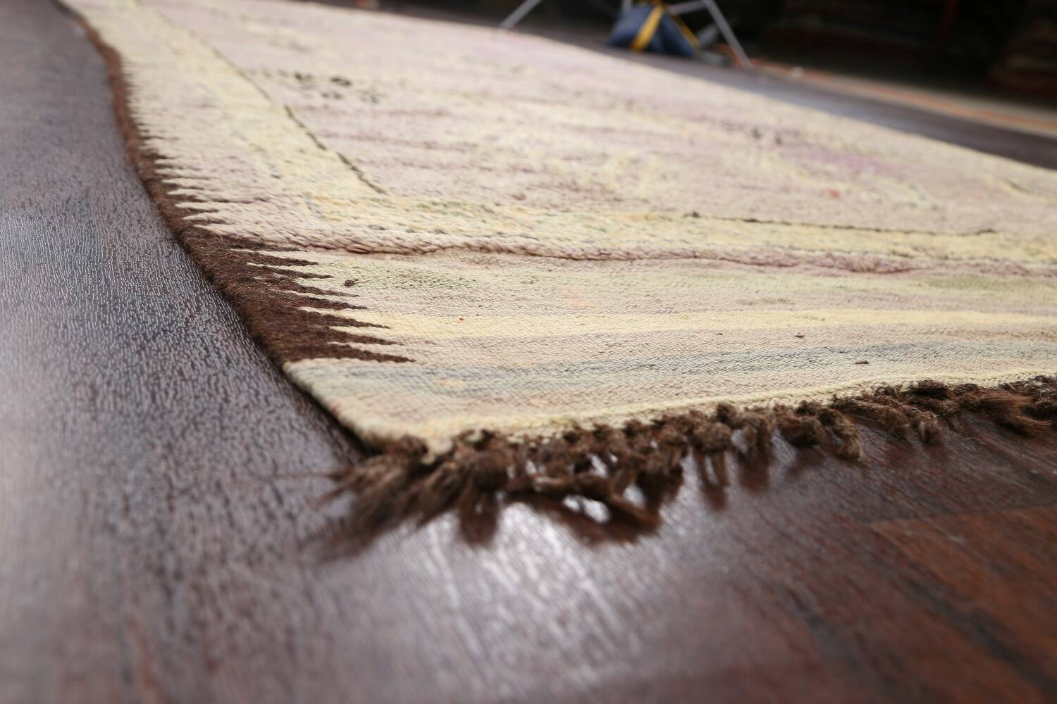 Antique South-western Moroccan Oriental Runner Rug 5x12 image 6