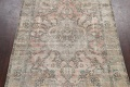 Muted Distressed Tabriz Persian Area Rug 7x9 image 3