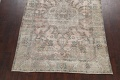Muted Distressed Tabriz Persian Area Rug 7x9 image 8