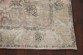 Muted Distressed Tabriz Persian Area Rug 7x9 image 5