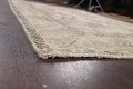 Muted Distressed Tabriz Persian Area Rug 7x9 image 6