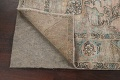 Muted Distressed Tabriz Persian Area Rug 7x9 image 7