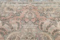 Muted Distressed Tabriz Persian Area Rug 7x9 image 12