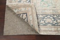 Muted Distressed Floral Kerman Persian Area Rug 8x11 image 7