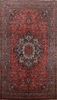 Antique 100% Vegetable Dye Bakhtiari Persian Area Rug 13x21