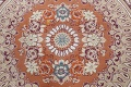 Floral Aubusson Oriental Area Rug 10x13 image 12