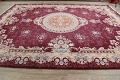 Floral Aubusson Oriental Area Rug 10x13 image 15