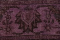 Distressed Over-dyed Tabriz Persian Area Rug 10x11 image 9