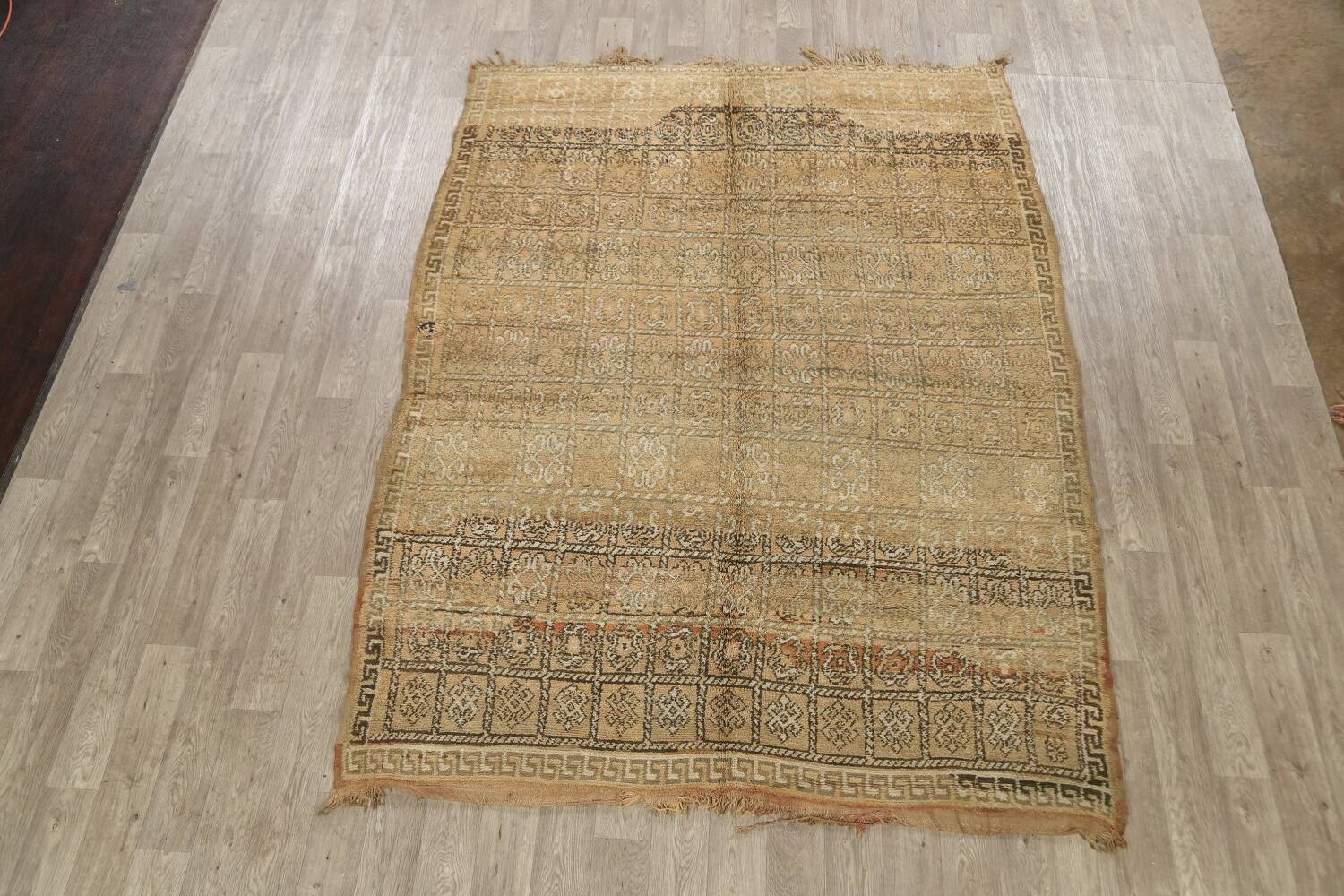 All-Over Tribal Moroccan Oriental Area Rug 7x9 image 2