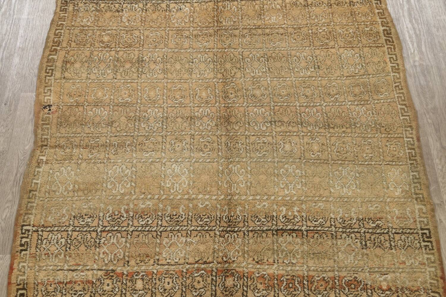 All-Over Tribal Moroccan Oriental Area Rug 7x9 image 3