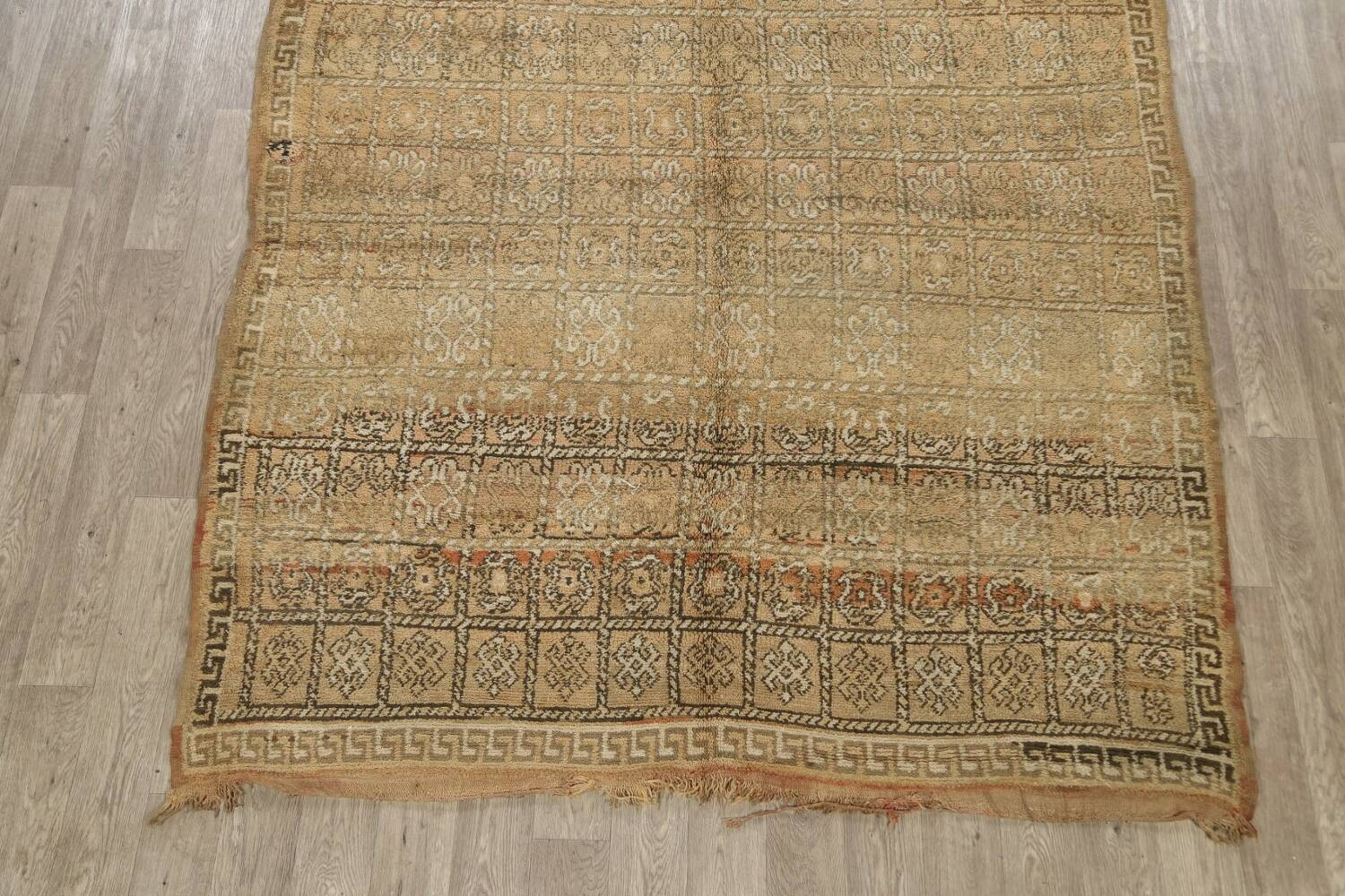 All-Over Tribal Moroccan Oriental Area Rug 7x9 image 8