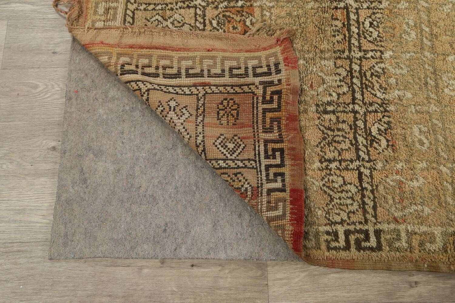 All-Over Tribal Moroccan Oriental Area Rug 7x9 image 7