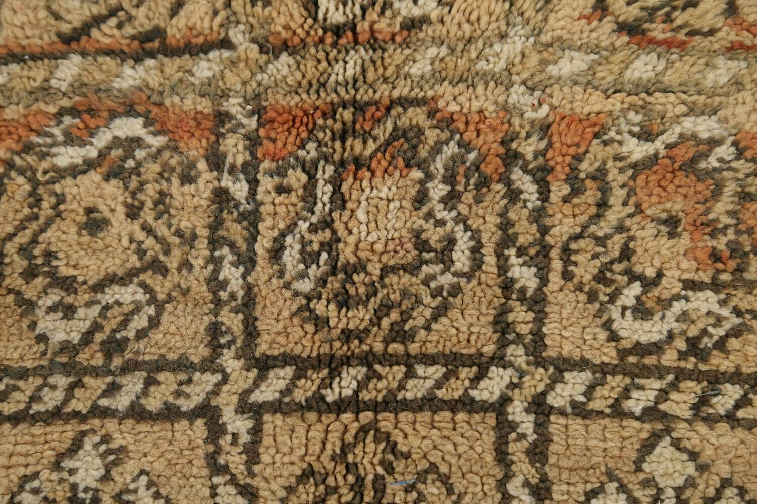All-Over Tribal Moroccan Oriental Area Rug 7x9 image 9