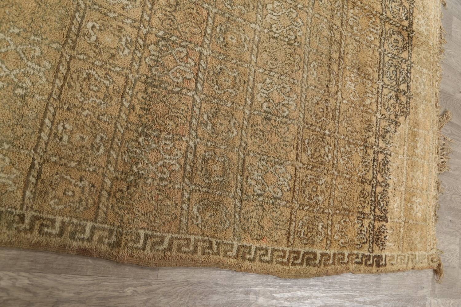 All-Over Tribal Moroccan Oriental Area Rug 7x9 image 15
