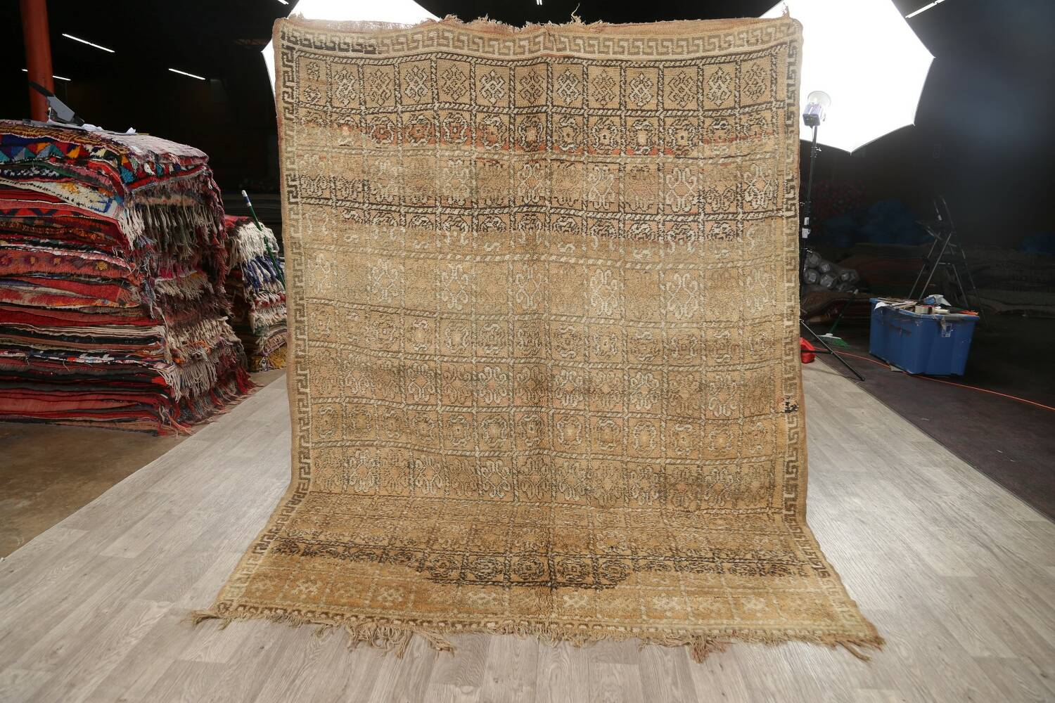 All-Over Tribal Moroccan Oriental Area Rug 7x9 image 18
