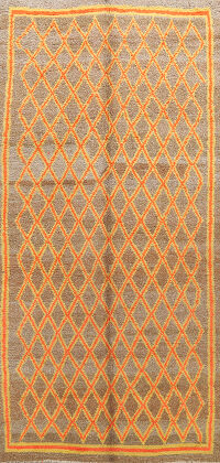 All-Over Moroccan Oriental Area Rug 6x11