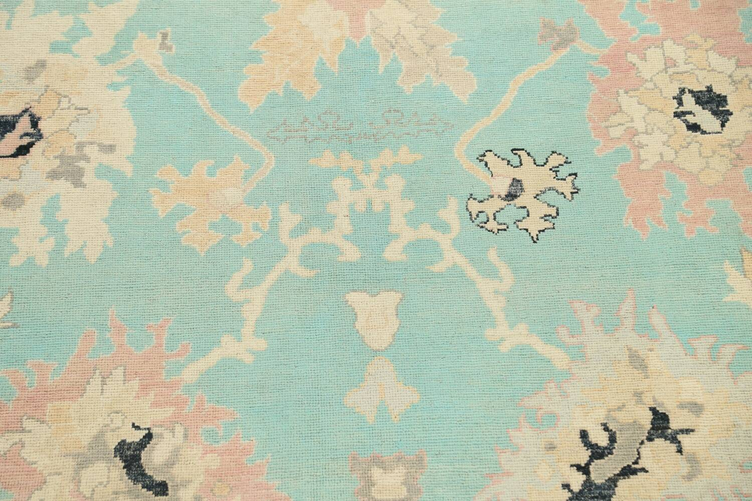 All-Over Oushak Oriental Area Rug 9x11 image 4