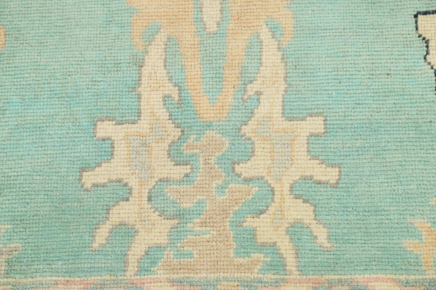All-Over Oushak Oriental Area Rug 9x11 image 10