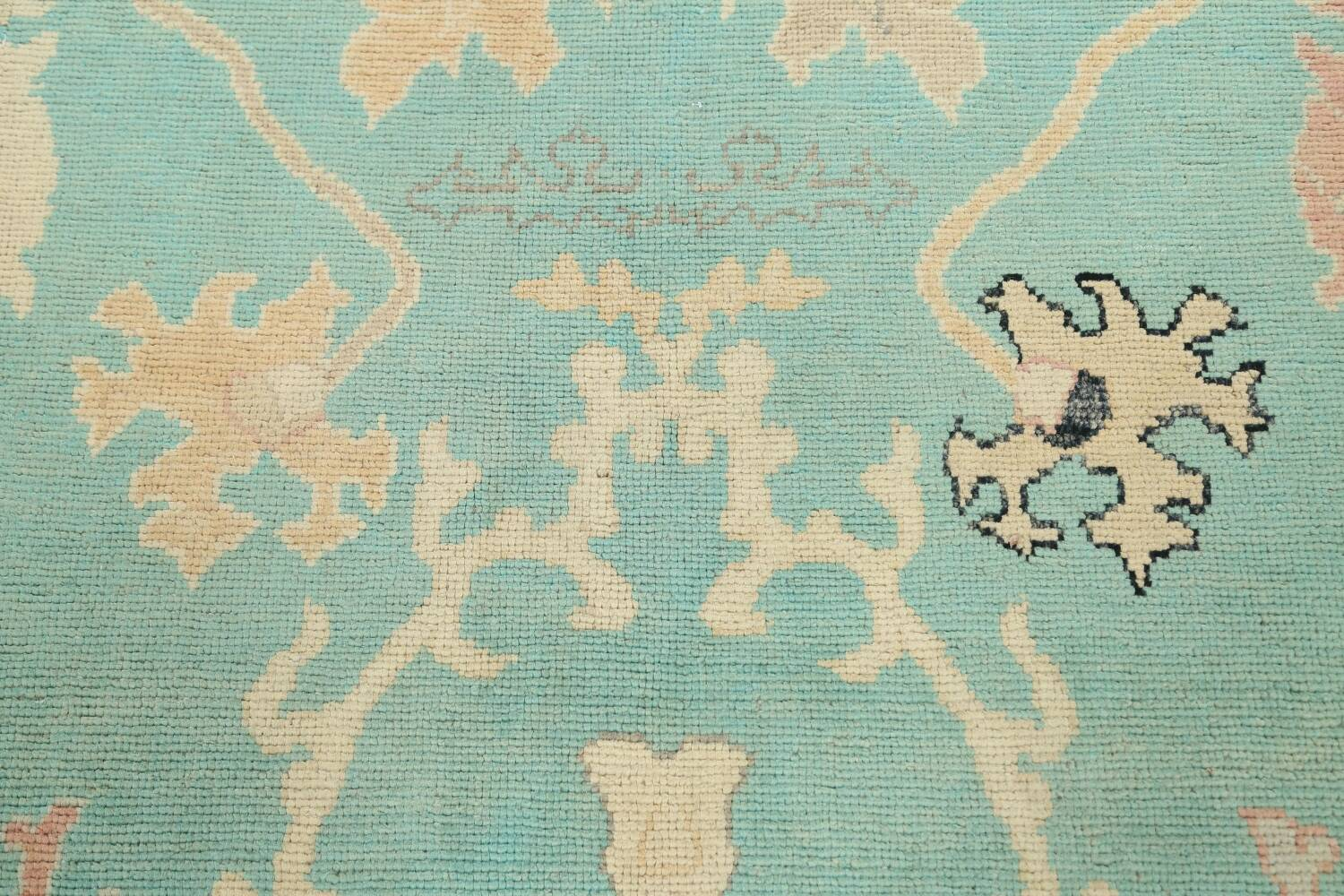 All-Over Oushak Oriental Area Rug 9x11 image 11