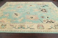 All-Over Oushak Oriental Area Rug 9x11 image 14