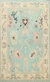 All-Over Oushak Oriental Area Rug 9x11 image 1