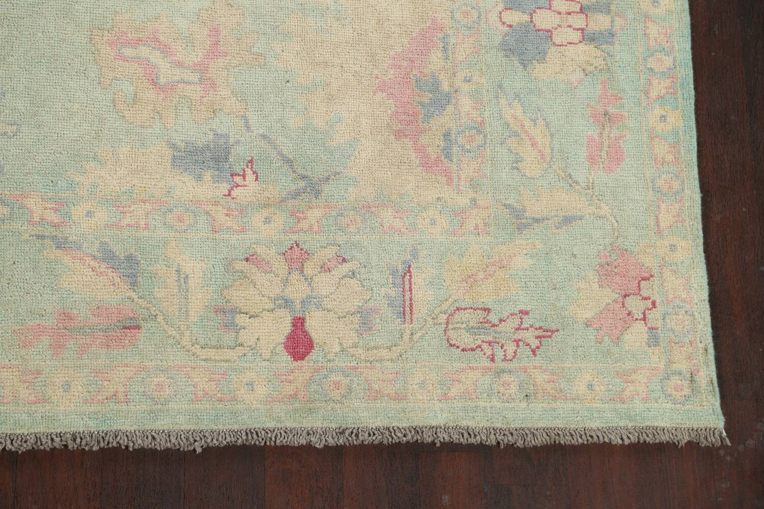 All-Over Oushak Oriental Area Rug 9x12 image 5