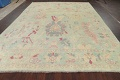 All-Over Oushak Oriental Area Rug 9x12 image 14