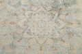 Muted Distressed Kashan Persian Area Rug 10x13 image 11