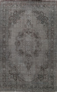 Over-dyed Tabriz Persian Area Rug 9x12