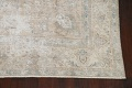 Muted Floral Tabriz Persian Area Rug 10x11 image 5