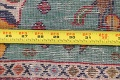 Pictorial Kashmar Persian Area Rug 2x2 Square image 11